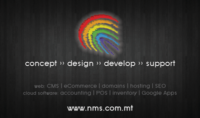 NMS Design Business Card